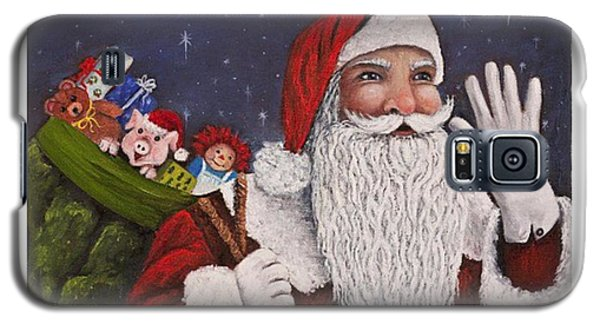 Holiday Galaxy S5 Case - merry #christmas To All Is This by Darice Machel McGuire