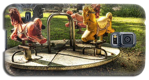 Galaxy S5 Case featuring the photograph Merry-go-round by Tamyra Ayles