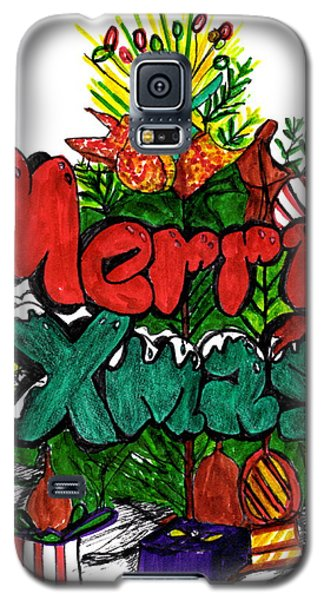 Merry Xmas Galaxy S5 Case