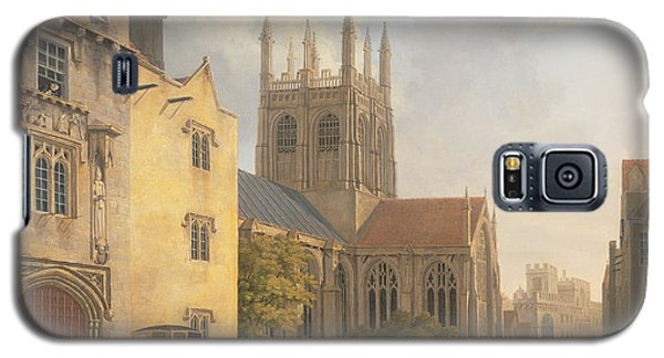 Town Galaxy S5 Case - Merton College - Oxford by Michael Rooker