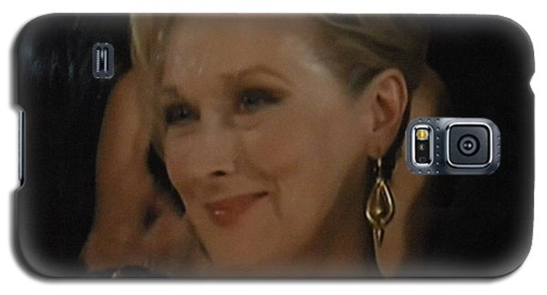 Meryl Streep Receiving The Oscar As Margaret Thatcher  Galaxy S5 Case