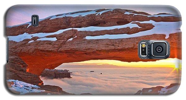 Mesa Arch And Winter Inversion Galaxy S5 Case