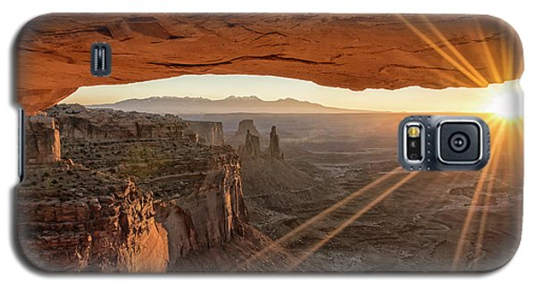 Mesa Arch Sunrise 4 - Canyonlands National Park - Moab Utah Galaxy S5 Case by Brian Harig