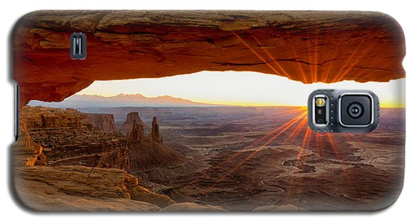 Mesa Arch Sunrise - Canyonlands National Park - Moab Utah Galaxy S5 Case by Brian Harig