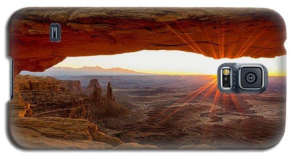 Mesa Arch Sunrise - Canyonlands National Park - Moab Utah Galaxy S5 Case