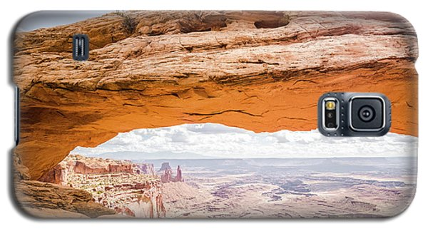 Mesa Arch Sunrise Galaxy S5 Case by JR Photography