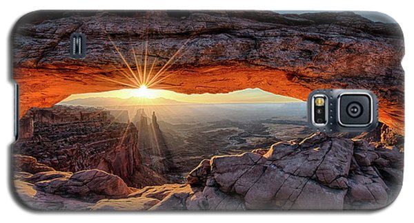 Mesa Arch Sunburst By Olena Art Galaxy S5 Case