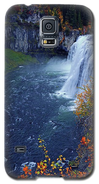 Mesa Falls In The Fall Galaxy S5 Case