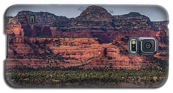 Mescal Mountain Panorama Galaxy S5 Case