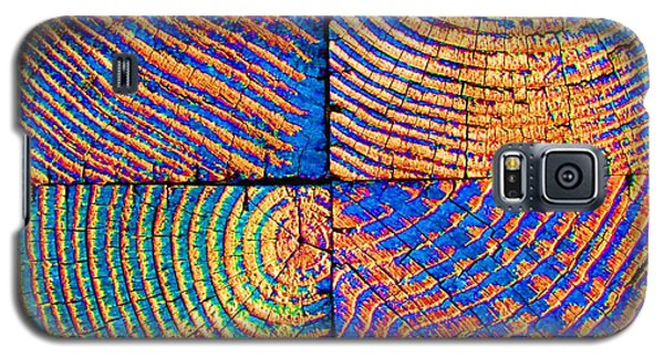 Rainbow Powerwood Galaxy S5 Case