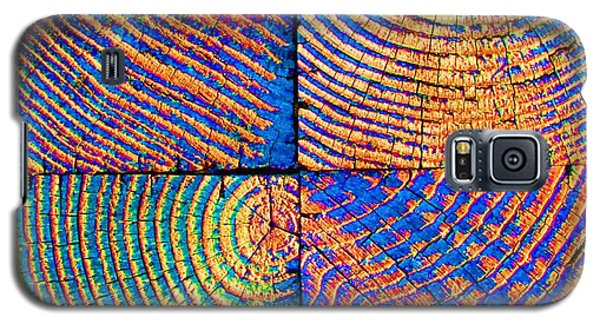 Galaxy S5 Case featuring the photograph  Rainbow Powerwood by John King