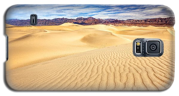 Mesquite Flat Sand Dunes In Death Valley Galaxy S5 Case