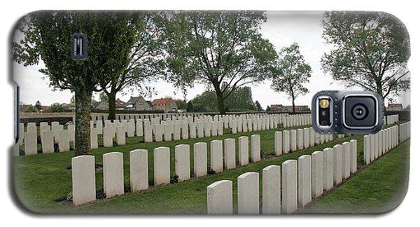Messines Ridge British Cemetery Galaxy S5 Case