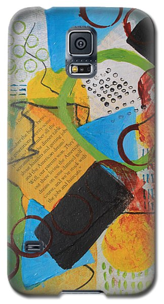 Messy Circles Of Life Galaxy S5 Case