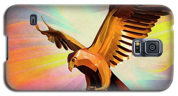 Metal Bird 1 Of 4 Galaxy S5 Case