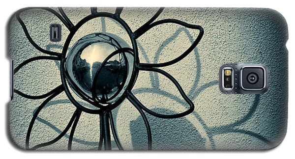 Metal Flower Galaxy S5 Case