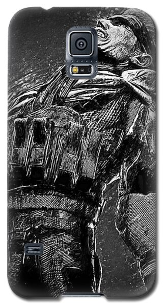 Metal Gear Solid Galaxy S5 Case by Taylan Apukovska