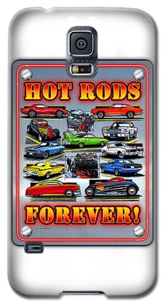 Metal Hot Rods Forever Galaxy S5 Case