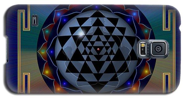 Metal Mandala Galaxy S5 Case
