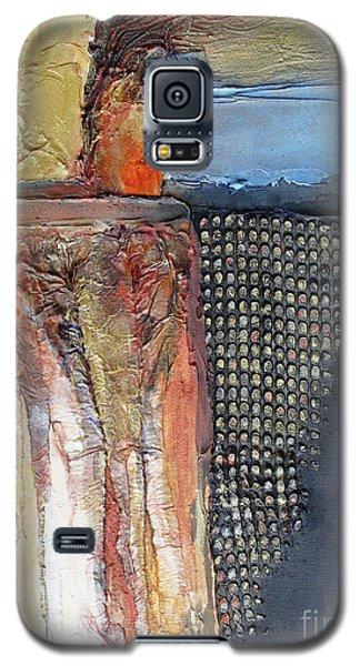Metallic Fall With Blue Galaxy S5 Case