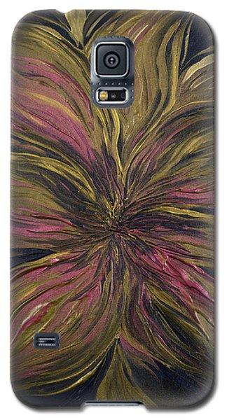 Metallic Flower Galaxy S5 Case