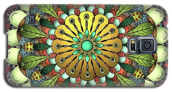 Metallic Mandala Galaxy S5 Case