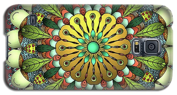Metallic Mandala Galaxy S5 Case