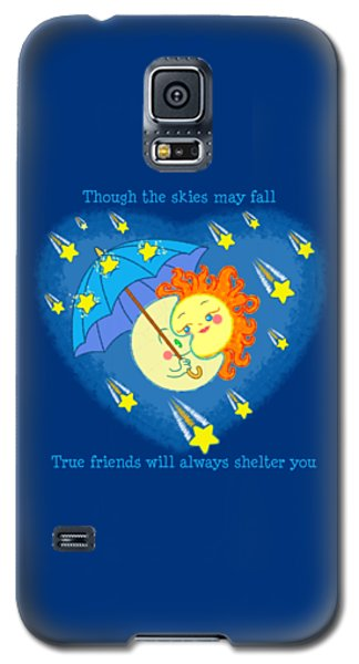 Galaxy S5 Case featuring the digital art Meteor Shower 3 by J L Meadows