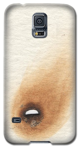 Galaxy S5 Case featuring the pyrography Meteore by Marc Philippe Joly