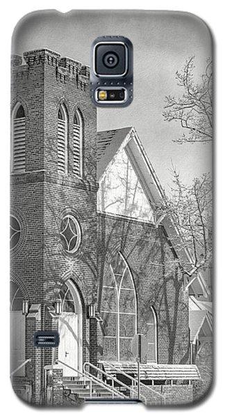 Methodist Church In Snow Galaxy S5 Case