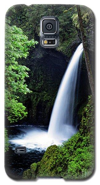 Metlako Falls Waterfall Art By Kaylyn Franks Galaxy S5 Case