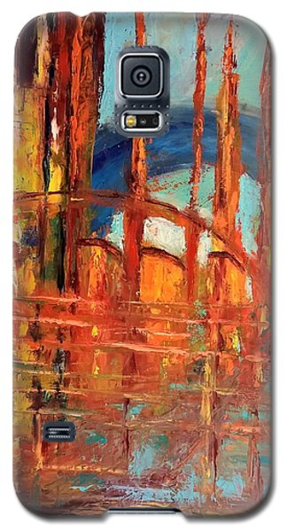Metropolis In Space Galaxy S5 Case