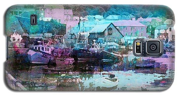 Mevagissey Harbour Galaxy S5 Case
