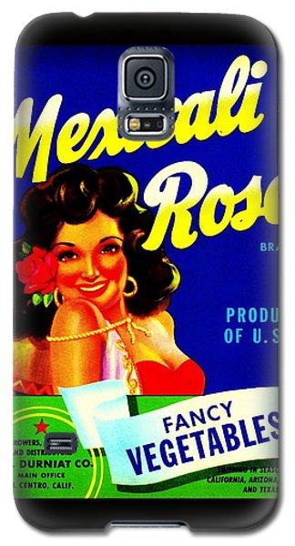 Mexicali Rose Vintage Vegetable Crate Label Galaxy S5 Case by Peter Gumaer Ogden