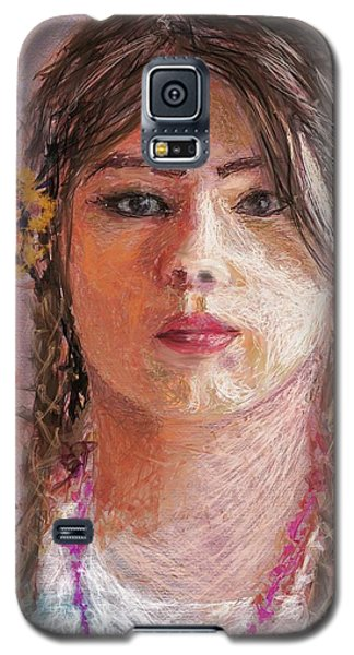 Mexican Girl Galaxy S5 Case