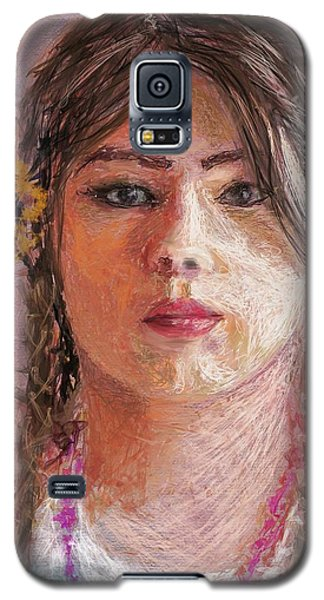 Mexican Girl Galaxy S5 Case