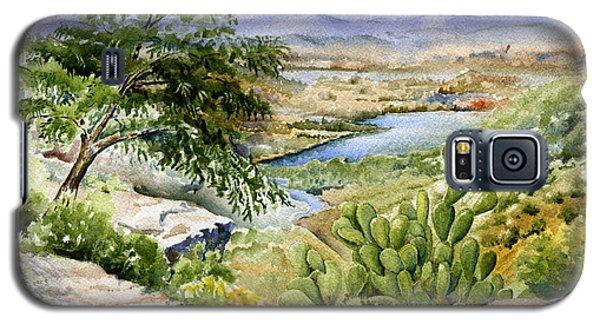 Mexican Landscape Watercolor Galaxy S5 Case