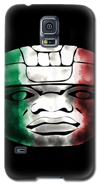 Mexican Olmec Galaxy S5 Case