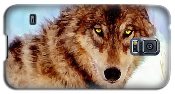 Mexican Wolf Painting Galaxy S5 Case