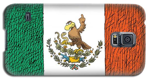 Mexico Flips Bird Galaxy S5 Case