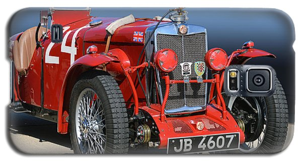 Galaxy S5 Case featuring the photograph Mg Ne Racing Magnette  by Bill Dutting