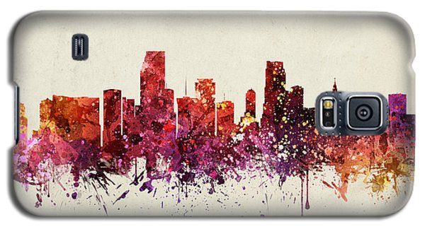 Miami Cityscape 09 Galaxy S5 Case by Aged Pixel