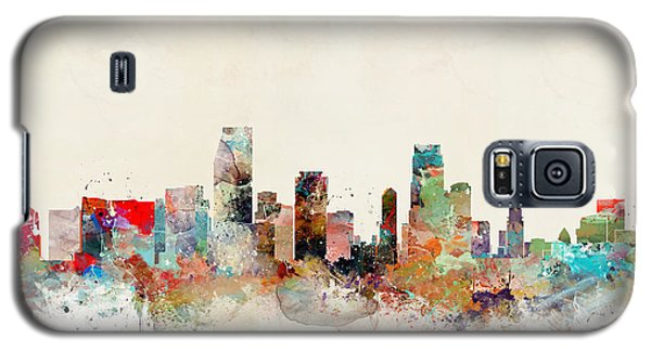Galaxy S5 Case featuring the painting Miami Florida by Bri B