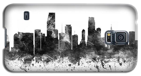Miami Florida Cityscape 02bw Galaxy S5 Case