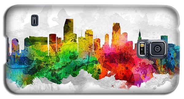 Miami Florida Cityscape 12 Galaxy S5 Case
