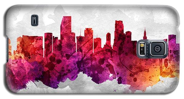 Miami Florida Cityscape 14 Galaxy S5 Case