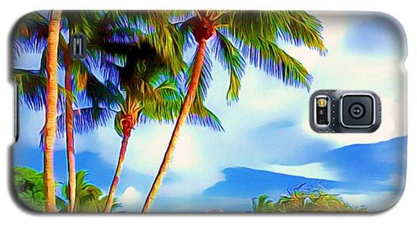 Miami Maurice Gibb Memorial Park Galaxy S5 Case by Patrice Torrillo