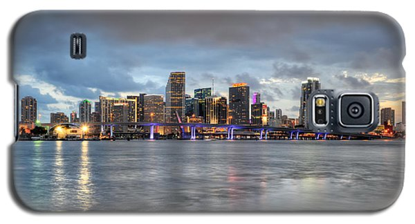 Miami Skyline At Dusk Galaxy S5 Case