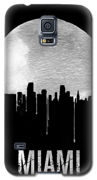 Miami Skyline Black Galaxy S5 Case