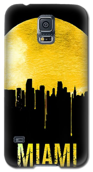 Miami Skyline Yellow Galaxy S5 Case